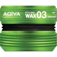 Agiva Wax Mat Görünüm 03 175  ML
