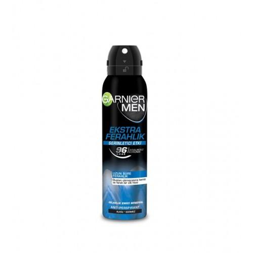 Garnier Men Ekstra Ferahlık Aerosol 150 ML Sprey deodorant