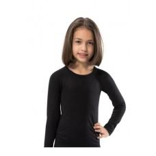 Berrak 849 Termal Kız Çocuk Üst siyah
