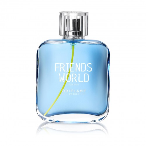 ORIFLAME Friends World EDT 75 ML erkek parfüm